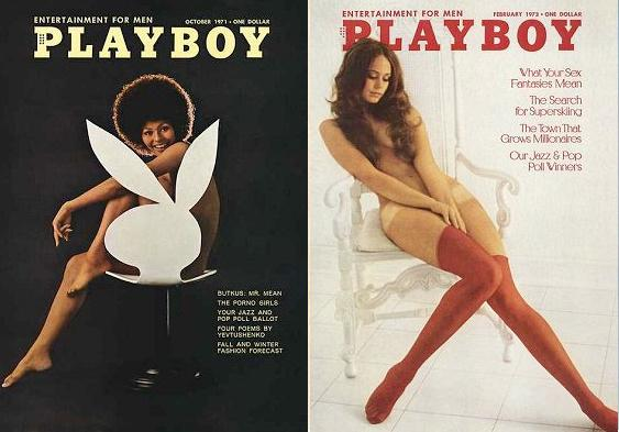 Copertine per Playboy vintage Hannah Couture-4640